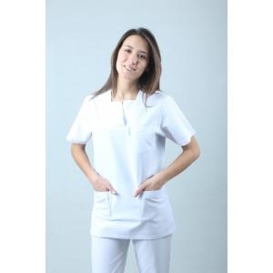 W Yaka Cerrahi Kesim Hemşire Forması Nöbet Takımı